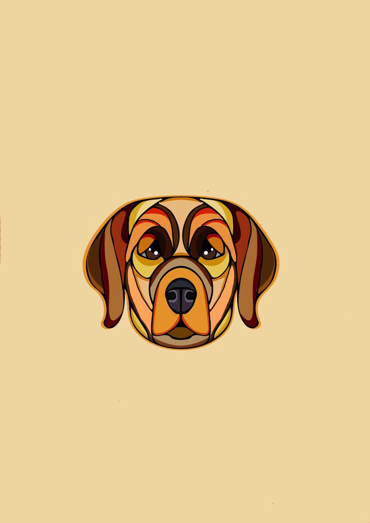 Labrador Dog by lickmynee