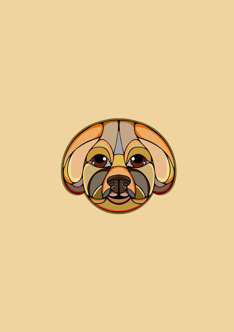 Bichon Frise Dog by lickmynee