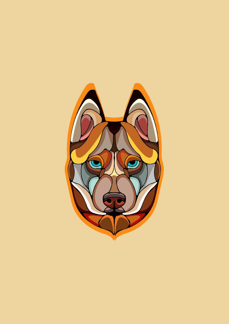 Husky Dog by lickmynee