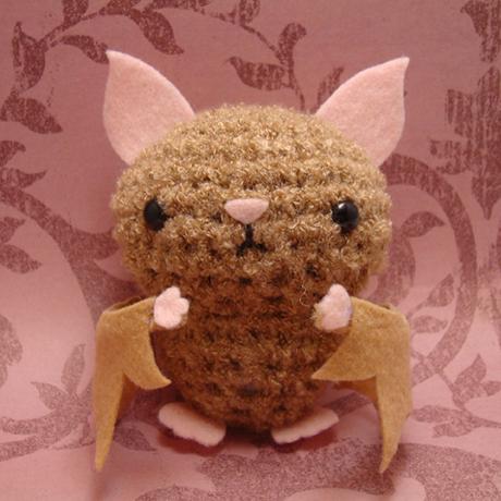 Make Amigurumi Bat Crochet : Amigurumi Bat by amigurumikingdom on DeviantArt