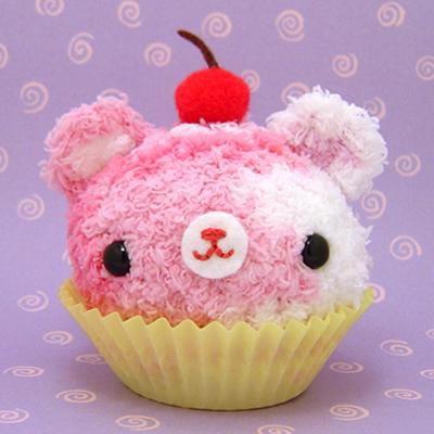 Amigurumi Cupcake bear by amigurumikingdom