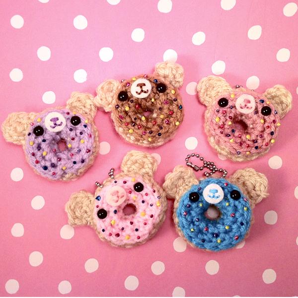 Mini Donuts Amigurumi : Amigurumi Doughnut Bears by amigurumikingdom on DeviantArt