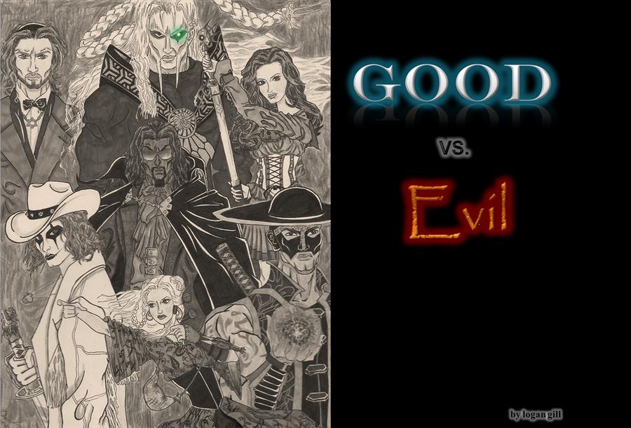good vs evil 3840x2160 wallpaper - photo #34