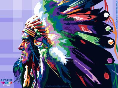 Risultati immagini per indian apache