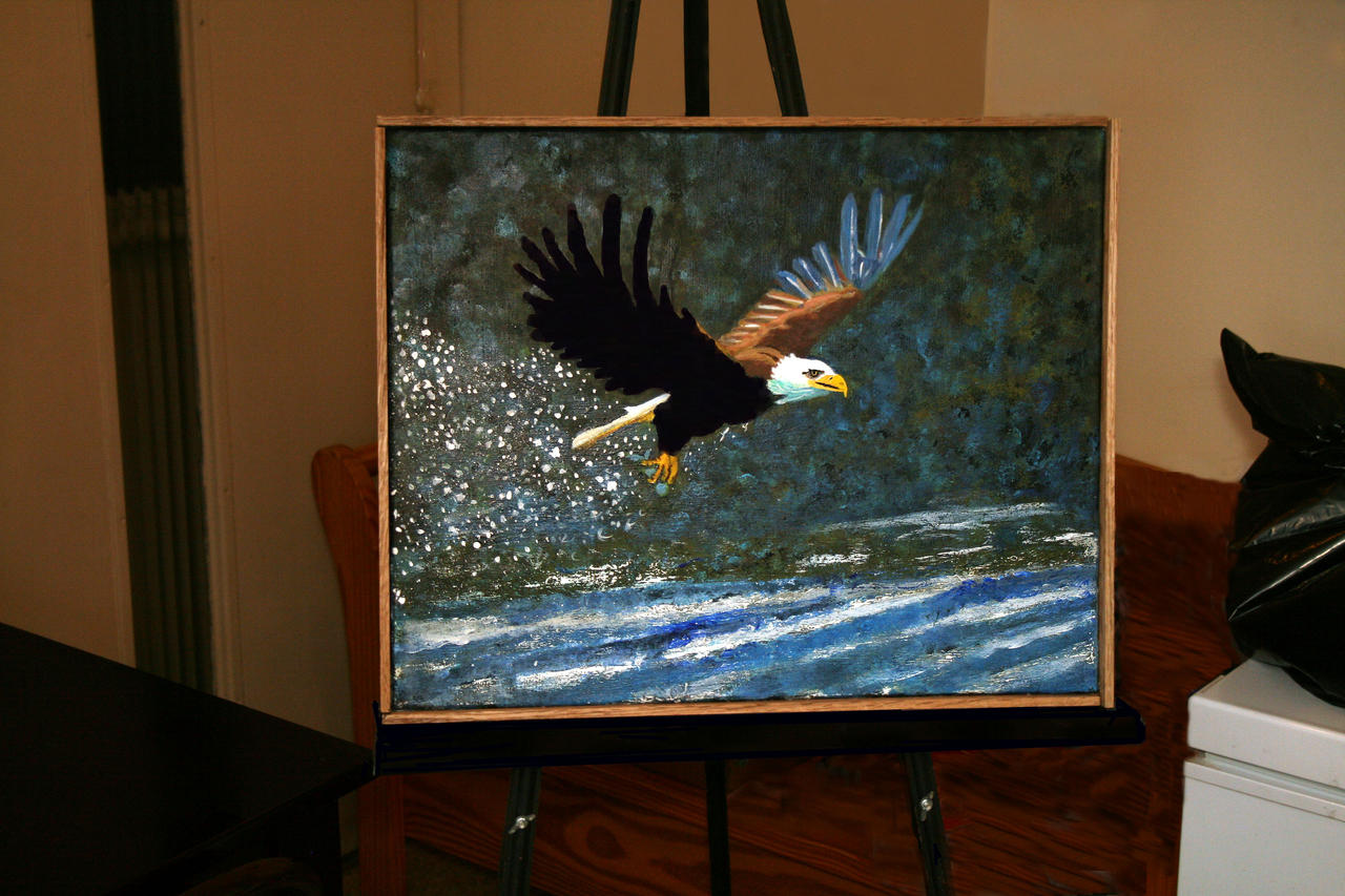 Eagle Painting by buildingclimber