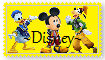 Kingdom Hearts: Disney Stamp by Crystal-Blisters