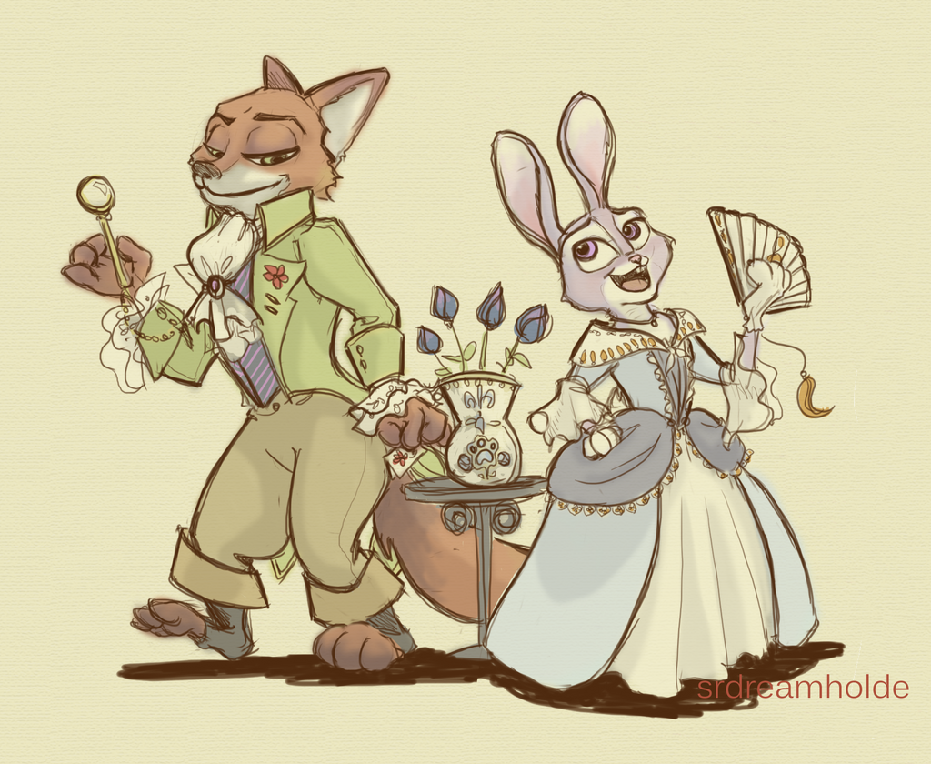 Zootopia and the Scarlet Pimpernel