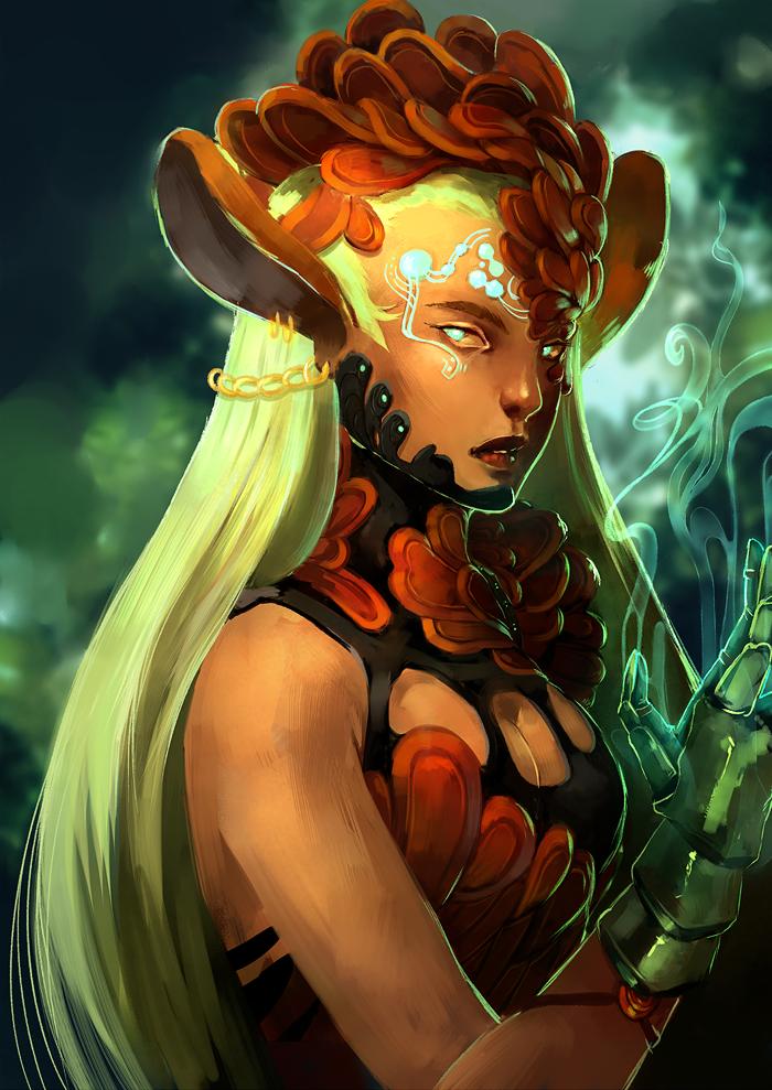 Forest Spirit by Xiiau