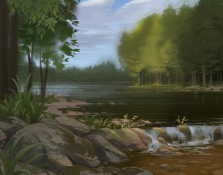 Riverside by LazyLapwing