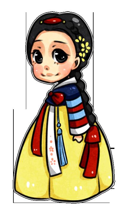 Disney Hanboks: Snow White by kiimcakes on DeviantArt