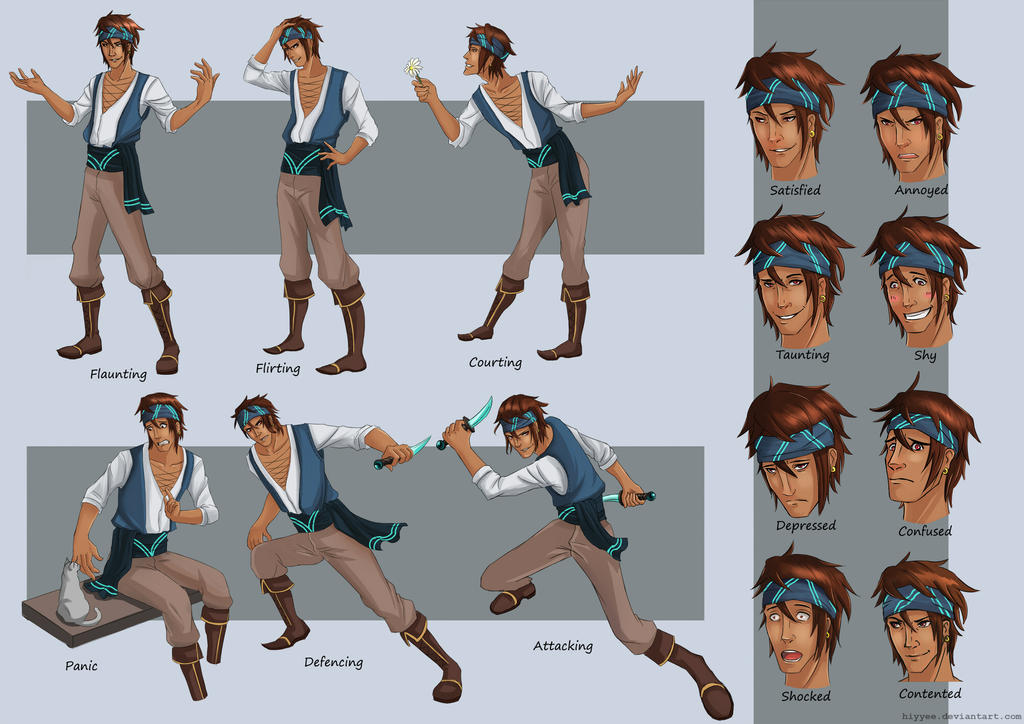 Character Design Style Sheet : Character design model sheet alair by hiyyee on deviantart