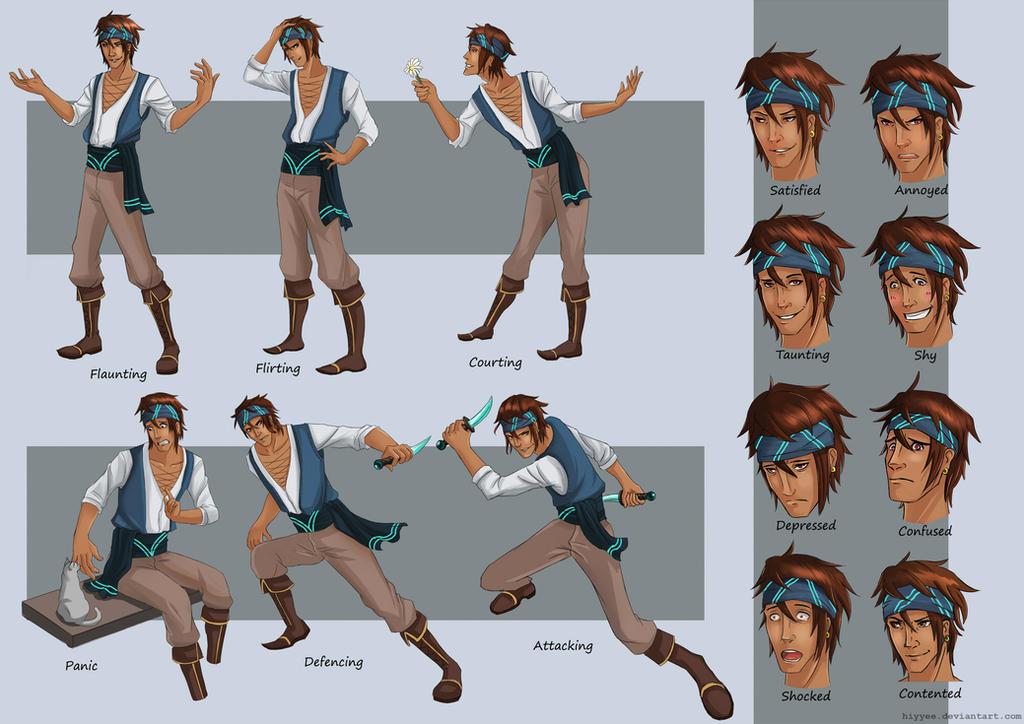 Character Design Sheet Tutorial : Character design model sheet alair by hiyyee on deviantart