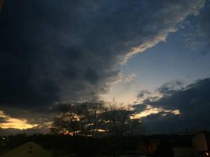 Dark Dramatic Sunset