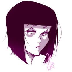 Simple Portrait by BIGrKap