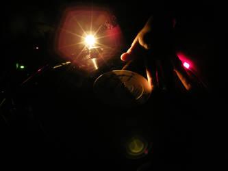 Music Shines Through the Dark by DomSplinter