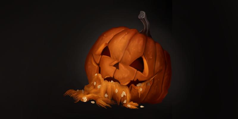 A pumpkin corpse by gadyariv