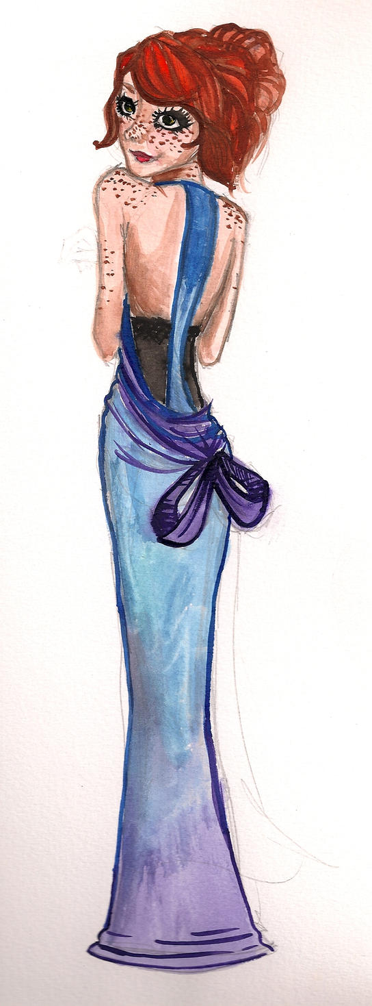 blue silk by mox-ie
