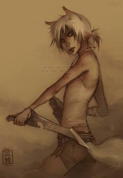 foxfolk: hunter by len-yan