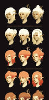 hair customization chart