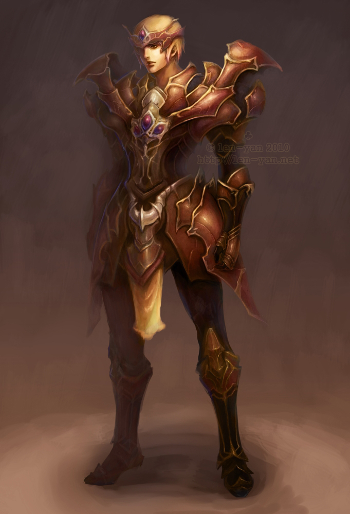 rusty armor by len-yan