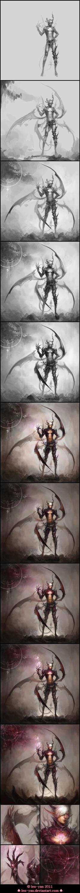 dark omen - progress by len-yan
