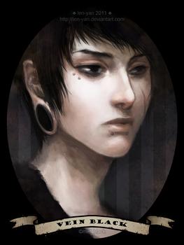 vein black
