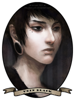 vein black by len-yan