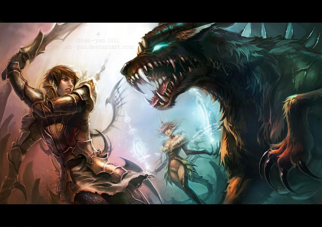 tinted battlefield by len-yan