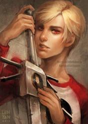 hs: GEAR EYED STRIDER by len-yan
