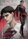 DC: men of steel by len-yan