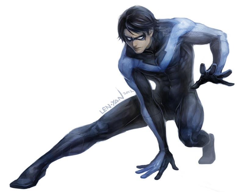 DC: crouch by len-yan