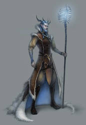 ice mage by len-yan