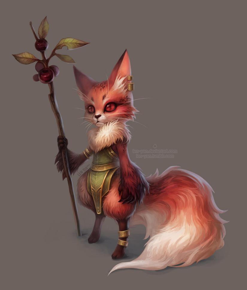 berry twig by len-yan