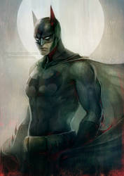 DC: dark knight by len-yan
