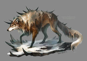 spiked wolf