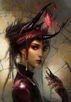 beetle witch by len-yan