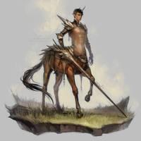 centaur lancer