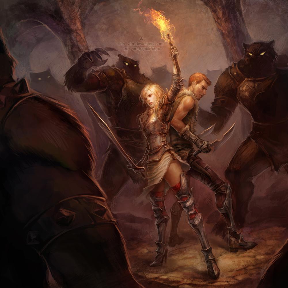 Talion: ambush by len-yan