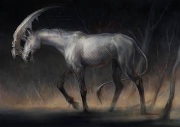 marshland unicorn by len-yan