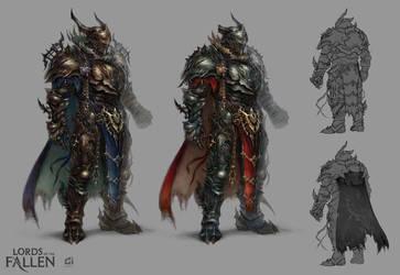 LOTF demonic warrior by len-yan