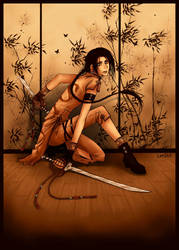 SWORDdancing by len-yan