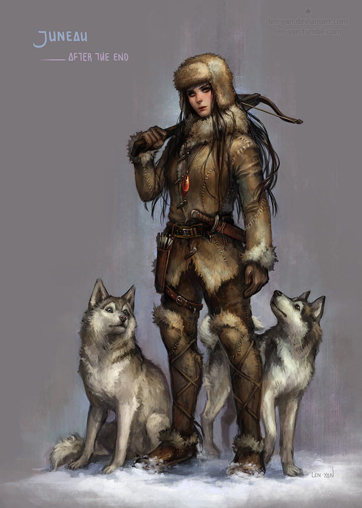 Barbarian tribal woman - 4 9