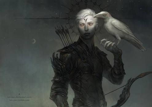 albus corvus by len-yan