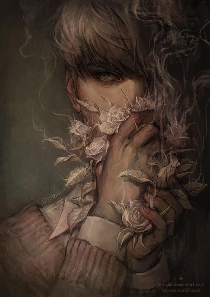 white lie by len-yan