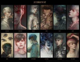 2017 summary of art by len-yan