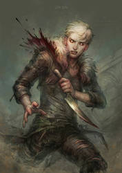 flesh wound by len-yan
