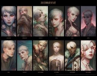2018 summary of art by len-yan