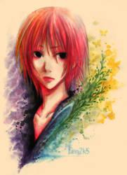 aqua colours by len-yan