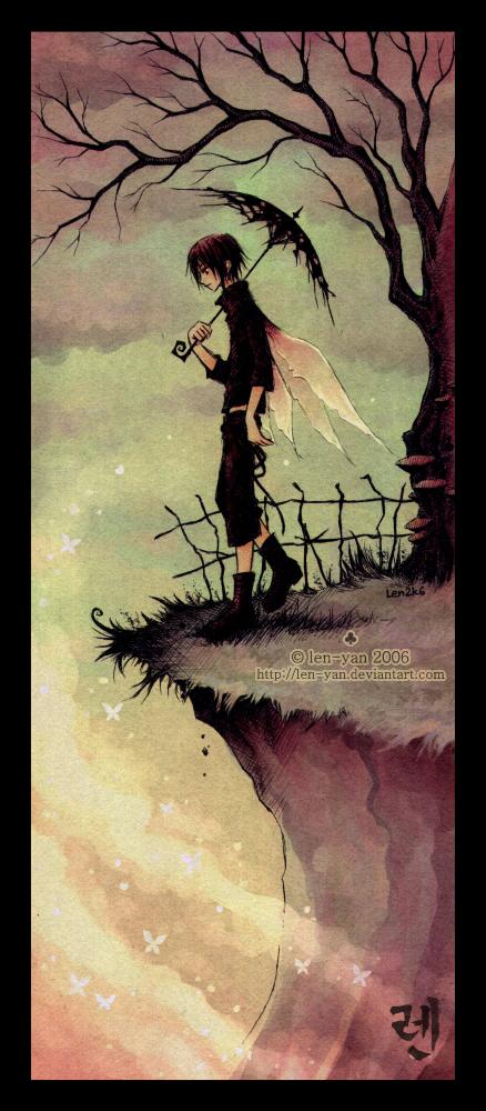 butterfly precipice by len-yan