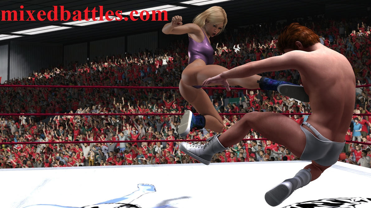 Femdom Mixed Wrestling 41
